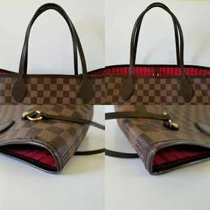 Louis Vuitton Bags - Louis Vuitton Neverfull MM Damier Ebene.